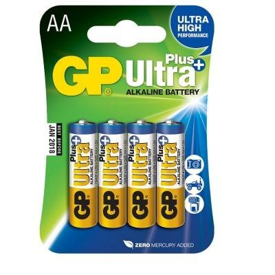 Baterie GP Ultra Plus AA 4ks