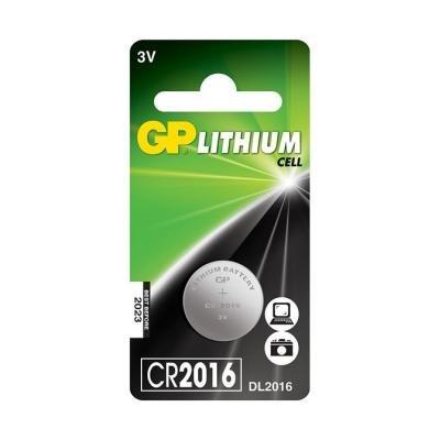 Baterie GP CR2016 3V 1ks