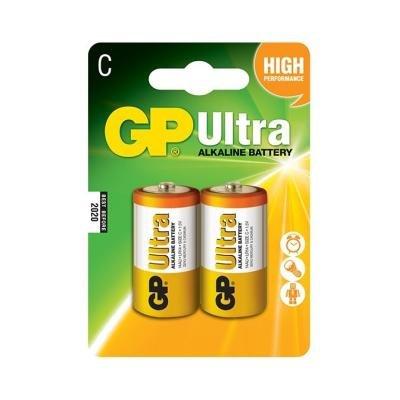 Baterie GP 1,5V LR14 (C) Ultra 2ks