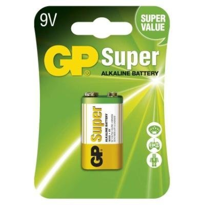 Baterie GP Super 9V (6LF22) 1ks
