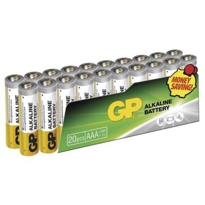 Baterie GP 1,5 V AAA (LR03) 20 ks