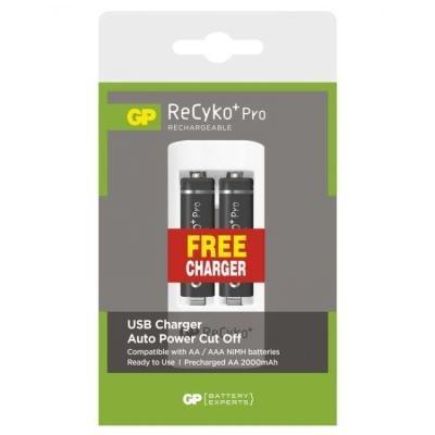 Nabíjecí baterie GP ReCyko+ Pro + USB nabíječka