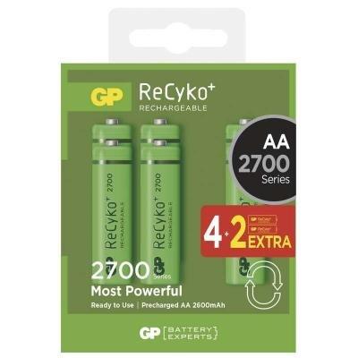 Nabíjecí baterie GP ReCyko+ AA Ni-MH 2700mAh