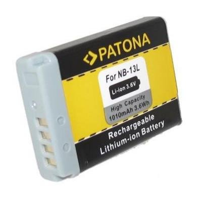 Baterie PATONA kompatibilní s Canon NB-13L