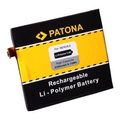 PATONA baterie pro mobilní telefon LG Nexus 5 D820 BL-T9 2300mAh 3,8V Li-pol
