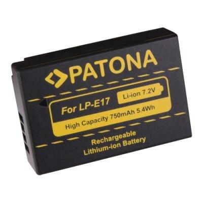 Baterie PATONA kompatibilní s Canon LP-E17
