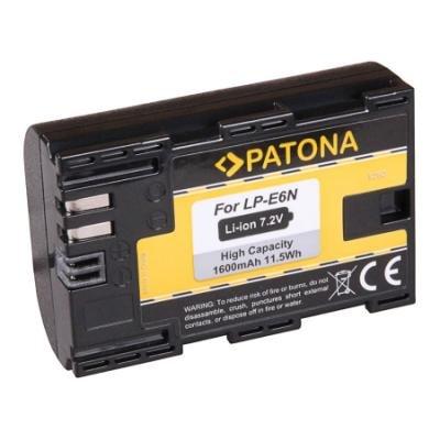 Baterie PATONA kompatibilní s Canon LP-E6/LP-E6N