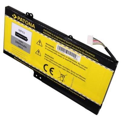 Baterie PATONA pro HP 3800 mAh
