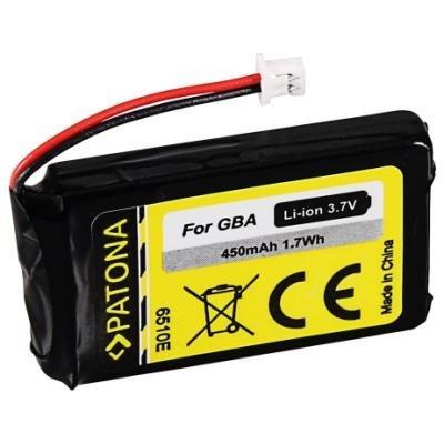 PATONA baterie pro herní konzoli Nintendo GBA 450mAh Li-lon 3,7V