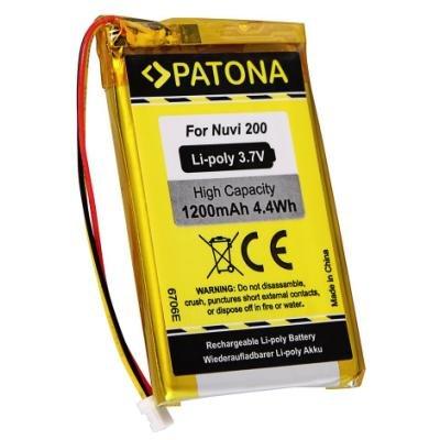 Baterie PATONA pro Garmin Nuvi 200 1200 mAh
