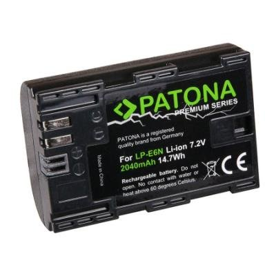 PATONA baterie pro foto Canon LP-E6N 2040mAh Li-Ion Premium