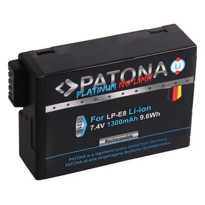 Baterie PATONA kompatibilní s Canon LP-E8 a LP-E8+
