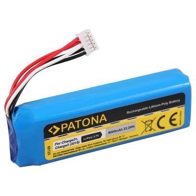 PATONA baterie pro JBL Charge 2+ 6000mAh