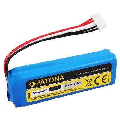 PATONA baterie pro JBL Charge 3 6000mAh