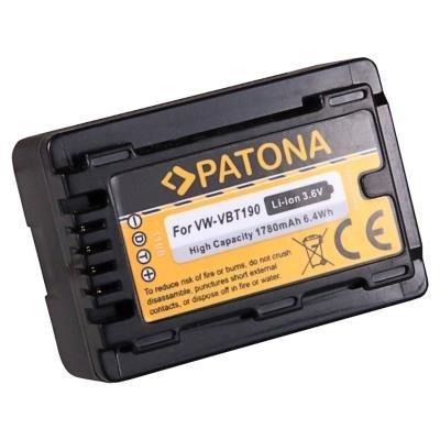 PATONA baterie kompatibilní s Panasonic VW-VBT190