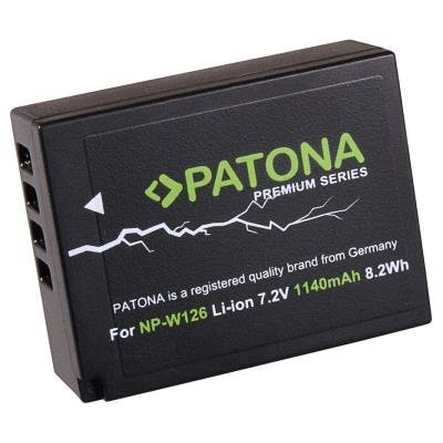 PATONA baterie kompatibilní s Fujifilm NP-W126