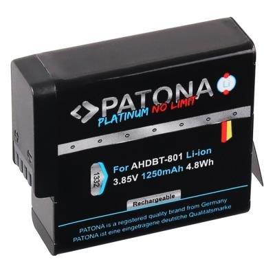 PATONA baterie pro GoPro Hero 5/6/7/8 1250mAh