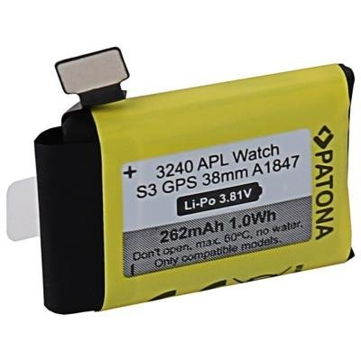 PATONA baterie pro Apple Watch 3 262mAh