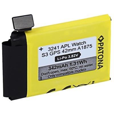 PATONA baterie pro Apple Watch 3 342mAh