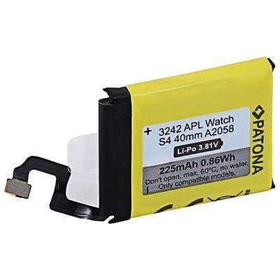 PATONA baterie pro Apple Watch 4 225mAh