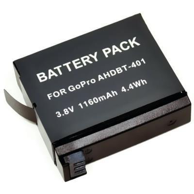 Alternativní baterie pro outdoorové sportovní videokamery