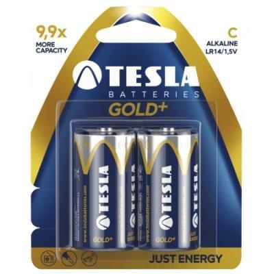 Baterie TESLA GOLD+ C (LR14) 2ks
