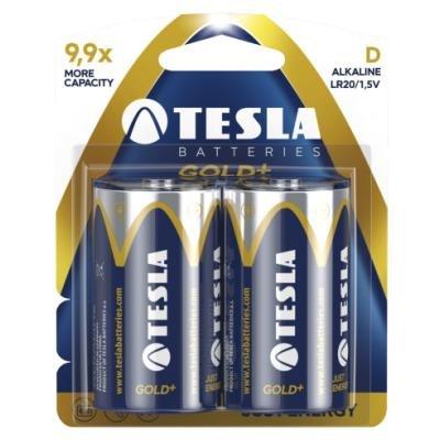 Baterie TESLA GOLD+ D (LR20) 2ks