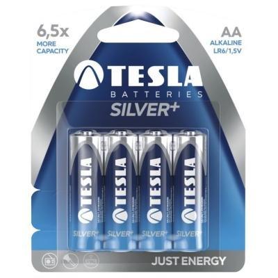 Baterie TESLA SILVER+ AA (LR06) 4ks