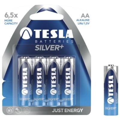 Baterie TESLA SILVER+ AA (LR06) 6ks