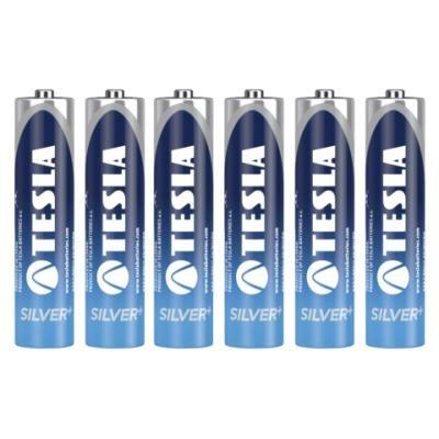 Baterie TESLA SILVER+ AAA (LR03) 6ks