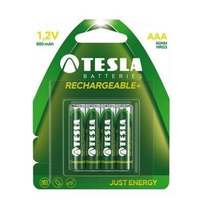 Nabíjecí baterie TESLA AAA Ni-MH 800mAh 4ks
