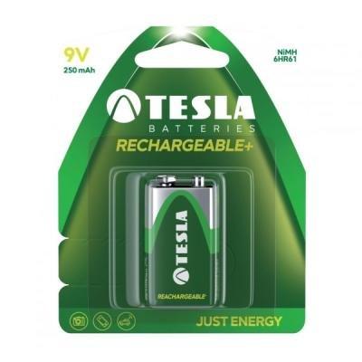 Nabíjecí baterie TESLA 9V Ni-MH 250mAh 1ks