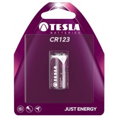 Baterie TESLA CR123 3V 1ks