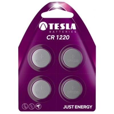 Baterie TESLA CR1220 3V 4ks
