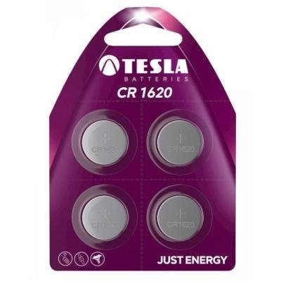 Baterie TESLA CR1620 3V 4ks