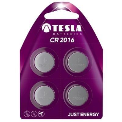 Baterie TESLA CR2016 3V 4ks