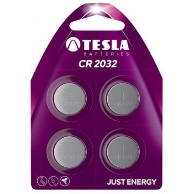 Baterie TESLA CR2032 3V 4ks