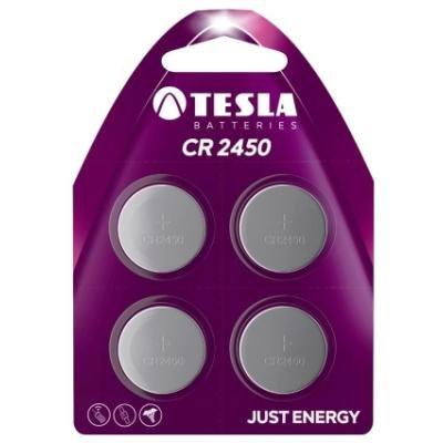 Baterie TESLA CR2450 3V 4ks