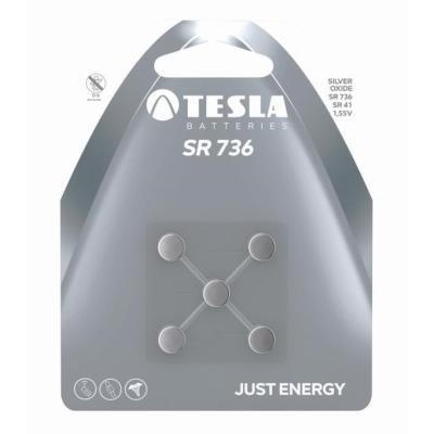 Baterie TESLA SILVER SR736 (SR41) 5ks