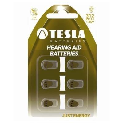 Baterie TESLA TA312 do naslouchadla 6ks