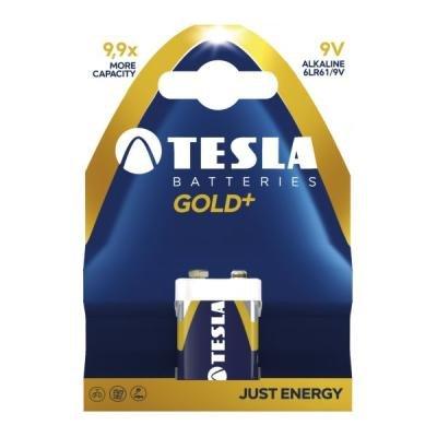 Baterie TESLA GOLD+ 9V (6LR61) 1ks