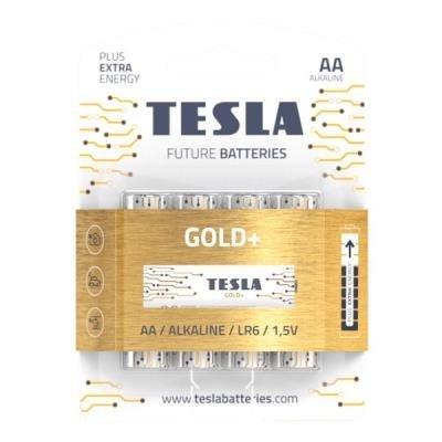 Baterie TESLA GOLD+ AA (LR06) 4ks