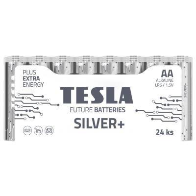 Baterie TESLA SILVER+ AA (LR06) 24ks
