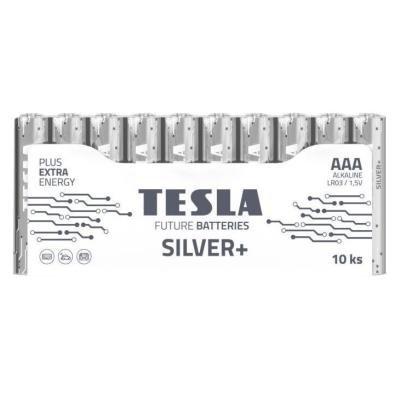 Baterie TESLA SILVER+ AAA (LR03) 10ks