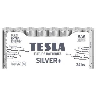 Baterie TESLA SILVER+ AAA (LR03) 24ks