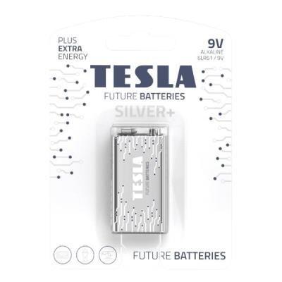 Baterie TESLA SILVER+ 9V (6LR61) 1ks