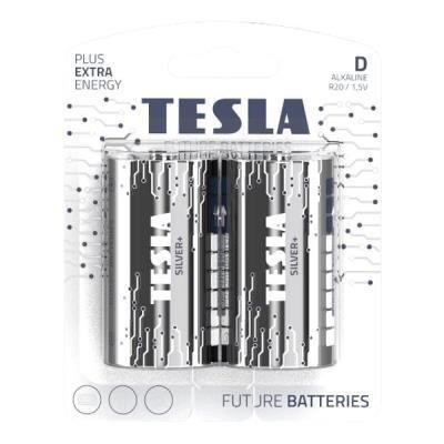 Baterie TESLA SILVER+ D (LR20) 2ks