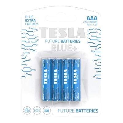 Baterie TESLA BLUE+ AAA (R03) 4ks