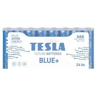 Baterie TESLA BLUE+ AAA (R03) 24ks