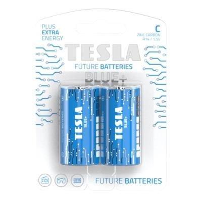 Baterie TESLA BLUE+ C (R14) 2ks